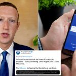 Mark Zuckerberg's cell phone number among 533 million phone numbers and personal data leaked by hackers