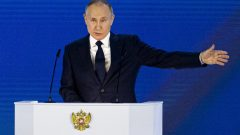 Russian President Putin vows a 'quick and tough' response for its foes