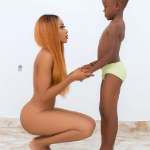 Ghanaian actress jailed for posing nude in front of 7-year-old son for an Instagram photo