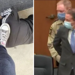 Texas teacher suspended over photo of her foot on a 10-year-old black student's neck, on the day of Derek Chauvin's guilty verdict