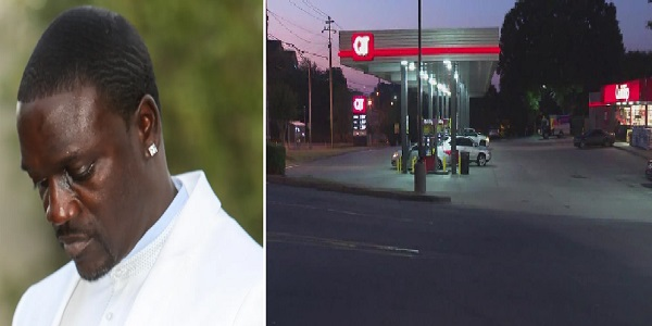 Akon's Range Rover stolen as he pumped gas into the SUV in Atlanta gas station