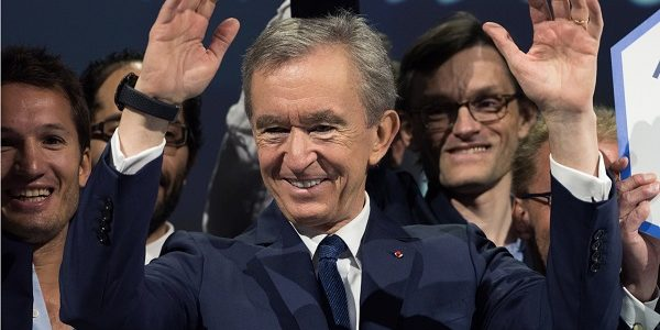 French fashion tycoon Bernard Arnault overtakes Jeff Bezos to become the richest man in the world