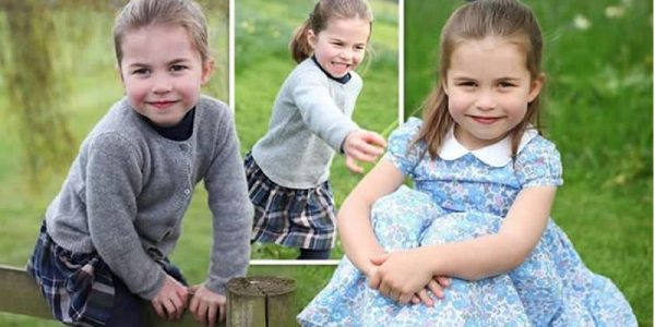 Kate Middleton and Prince William published a new photo of Princess Charlotte